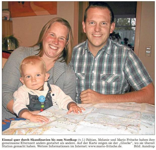 Einmal quer durch Skandinavien bis zum Nordkap
