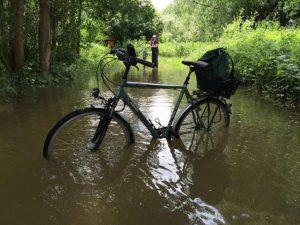 Endstation Unterwasser-Fahrrad-Weg!